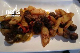 Fırında Köfteli Patates Yemeği Tarifi