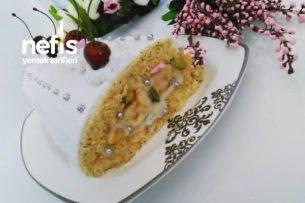 Haşhaşlı Muzlu Rulo Pasta Tarifi