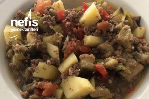 Pratik Patlıcanlı Hafif Diyet Yemek Tarifi