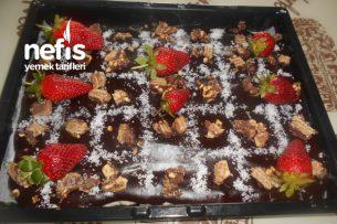 Sütlü İrmikli Bitter Çikolata Pudingli, Tatlı Tarifi