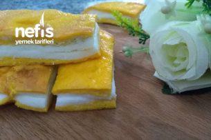 Tek Malzemeli Pasta Görünümlü Omlet Tarifi
