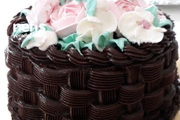 Çiçek Sepeti Pastası Tarifi