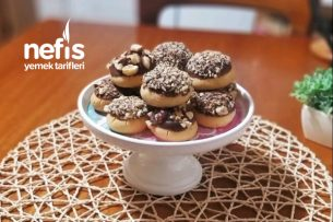 Çikolata Soslu Fındıklı Kurabiye Tarifi
