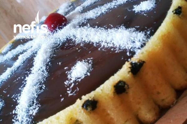 Damla Çikolatalı Tart Kek Tarifi