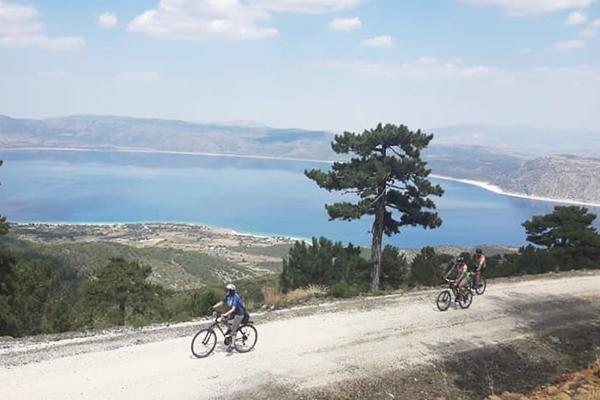 salda gölü bisiklet turu