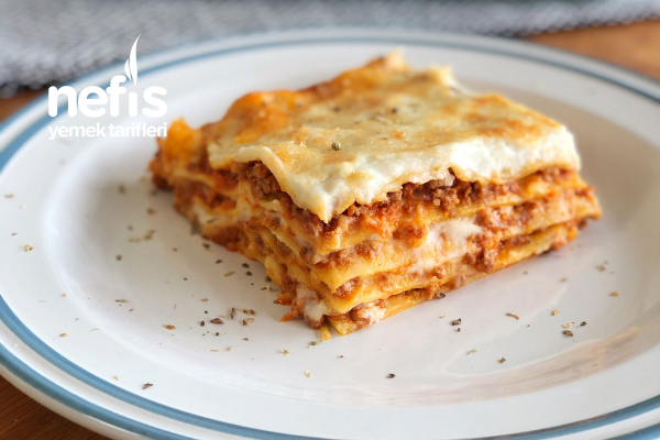 Orijinal İtalyan Lazanya Bolonez Tarifi / Lasagne Bolognese