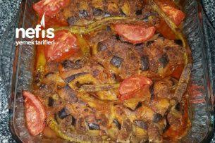Dilimli Patlıcanlı Köfte Tarifi