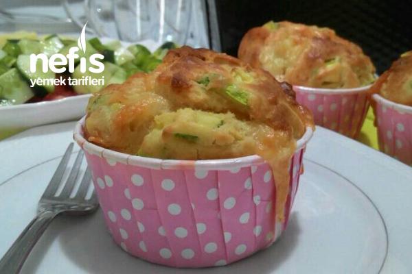 Kahvaltılık Kabak Muffins Tarifi