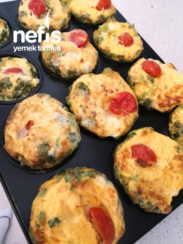 Muffin Kalıbında Omlet