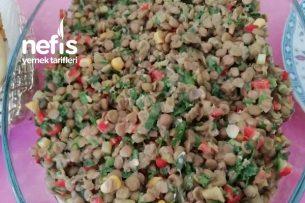 Yeşil Mercimek Salatası (İddalıyım Favoriziniz Olacak) Tarifi