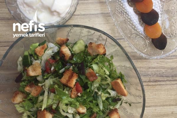 Az Kalorili, Bol Lezzetli Salata Tarifi