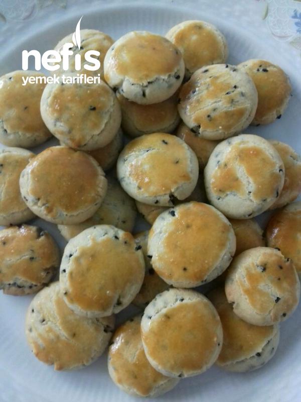 Çörek Otlu Kurabiye (kıyır Kıyır)