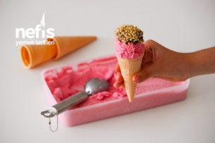 Evde Az Malzeme İle Gerçek Dondurma Tarifi