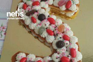 Harf Pasta (Cookie Cake) Tarifi
