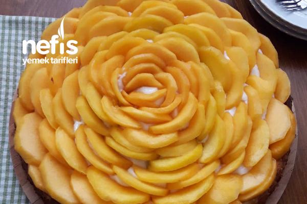 Şeftalili Tart Pasta Tarifi