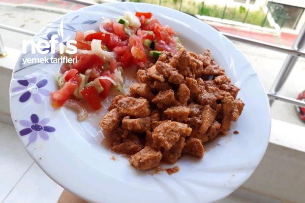 Tarıfını Lokanta Ustasından Aldığım Lokum Gıbı Soya Soslu Tavuk