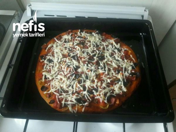 Ev Yapımı Mükemmel Pizza