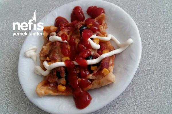 Milföyden Pizza Yapımı Tarifi