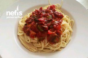 Sebzeli Domates Soslu Spaghetti Tarifi