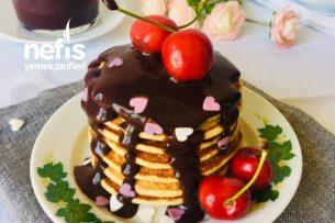 Çikolata Soslu Pancake Tarifi