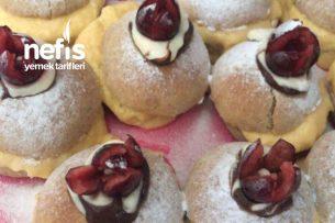 Kayısı Kremalı İkramlık Mini Pasta Tarifi