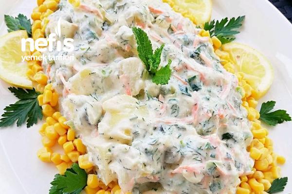 Patatesli Yaz Salatası Tarifi