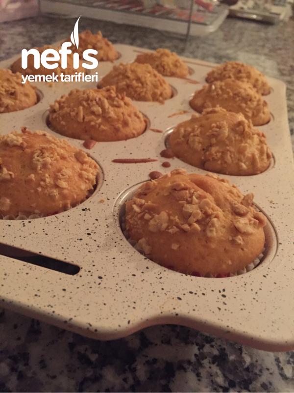 Yer Fıstıklı Yumuşacık Muffin