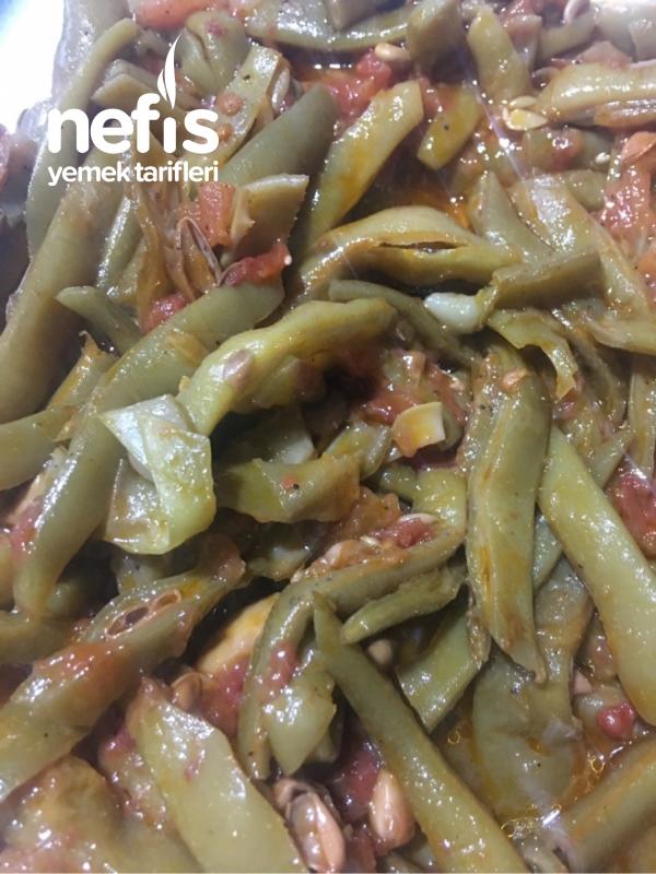 Zeytinyağlı Taze Fasulye ( Salçasız )