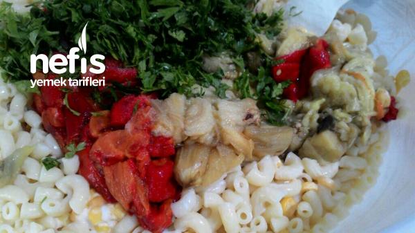 Közlü Makarna Salatası