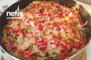 2 Adet Yufkadan Pizza Tarifi