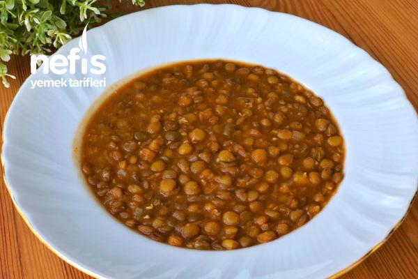 Bulgaristan Usulü Yeşil Mercimek Yemeği