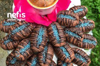 Damla Çikolatalı Kahve Çekirdeği Kurabiyesi Tarifi