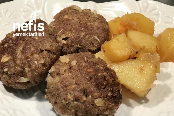 Fırında Köfte Patates (Videolu) Tarifi