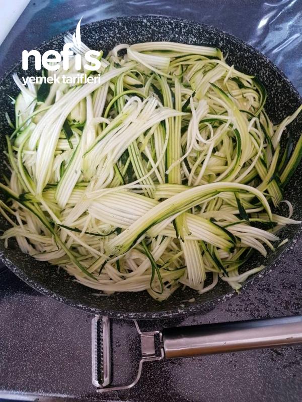 Ketojenik Diyet Kabak Spaghetti (zoodles)