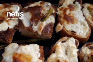 Peynirli Kızarmış Ekmekler Tarifi