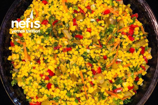Rengarenk Kuskus Salatası Tarifi