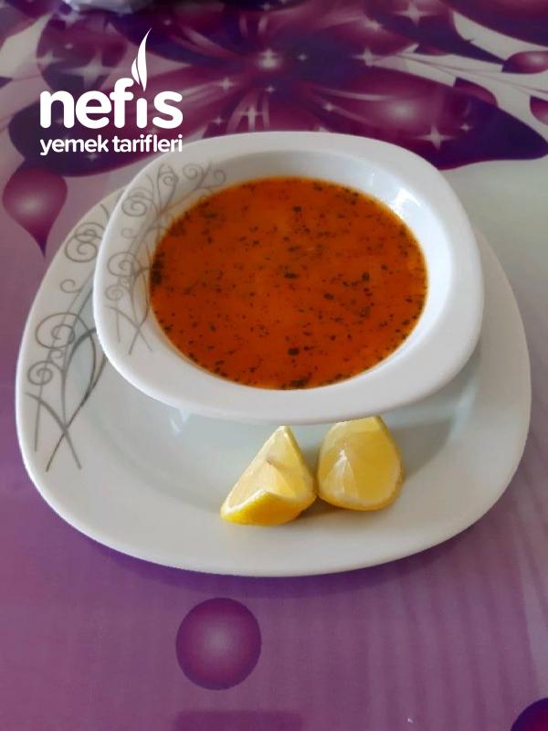 Şehriyeli Domates Çorbası (şifa Kaynağı)