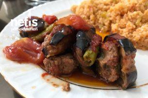 Fırında Pratik Patlıcan Kebabı Tarifi