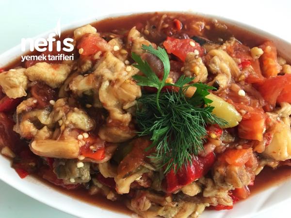 Mangal Mezesi ( Sebze Kebabi)