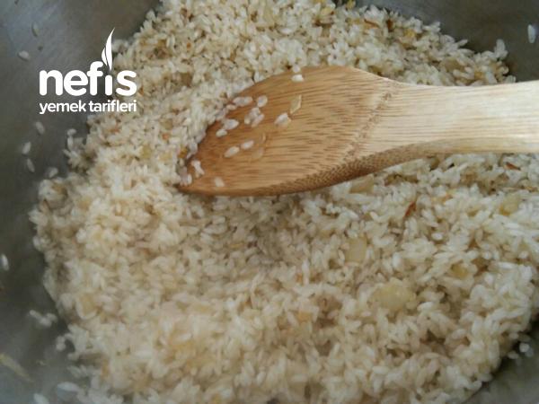 Nefis Patlıcanlı Pirinç Pilavı