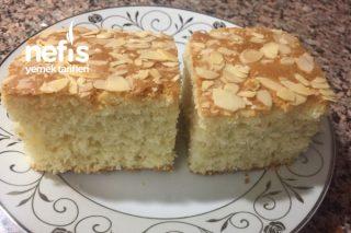 Nişastalı , Hindistan Cevizli , Bademli Kek ( Tepsi Keki ) Tarifi