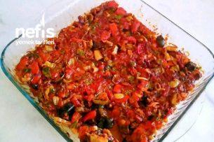 Fırında Patlıcan Musakka (Kızartılmadan) Tarifi