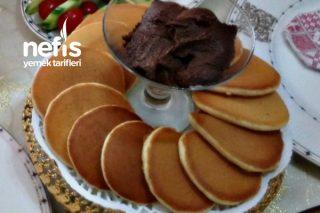Kahvaltılık Altın Pankek Pancake Tarifi