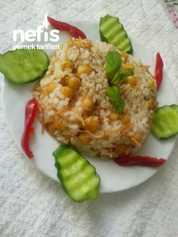 Nohutlu Pirinç Pilavı (Tane Tane)