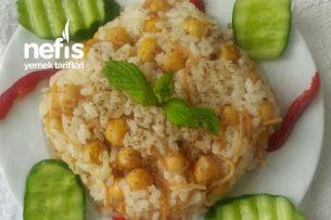 Nohutlu Pirinç Pilavı (Tane Tane) Tarifi
