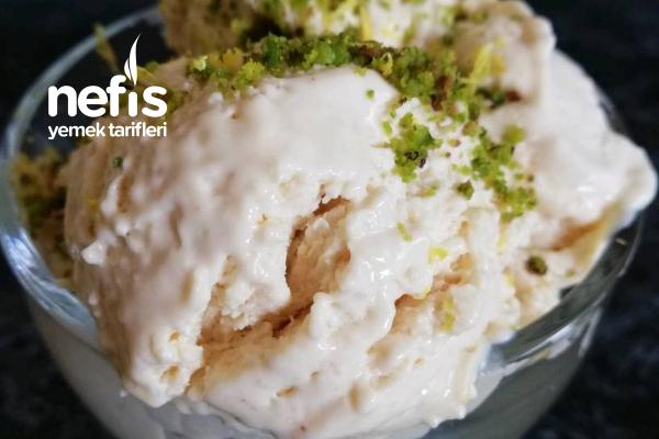 Beyaz Çikolatalı Limonlu Dondurma (Orijinal Tarif