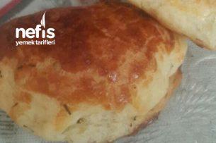 Dereotlu Peynirli Pastane Poğaçası Tarifi