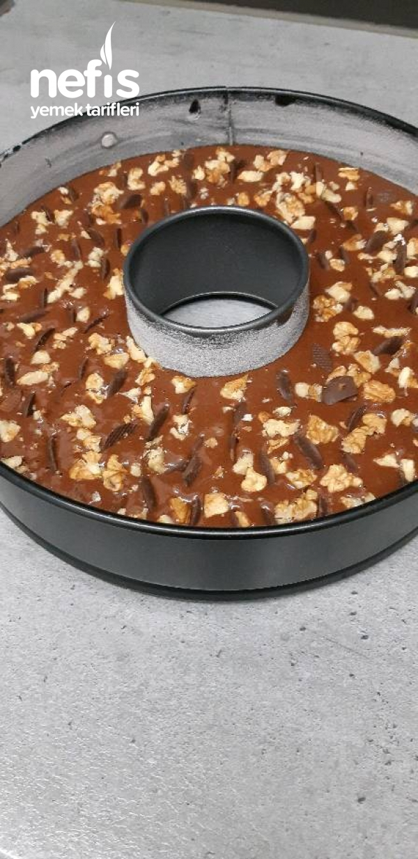 Nutella'lı Pamuk Kek'im