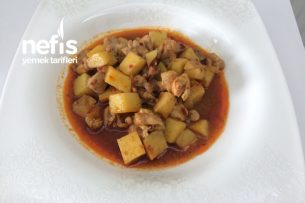 Patatesli Tavuk Sote (Anne Yemeği) Tarifi
