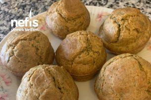 Sütsüz Tuzlu Dietimtrak Muffin Tarifi